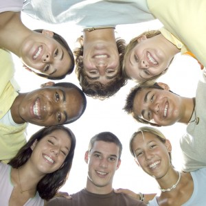 The Human Knot Game - youth group game