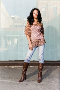 Youth job interview attire