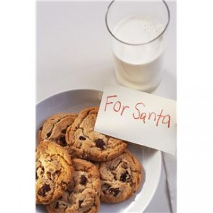 Don't forget to leave out your cookies and milk