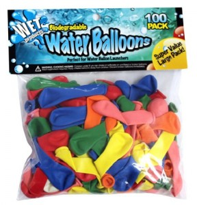 Water Balloon Relay