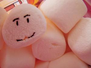 Marshmallow Toss